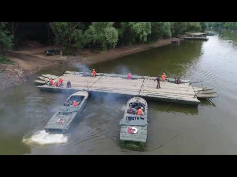 2CR Danube River Crossing 2017 B-Roll