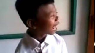 Video lucu anak SD suara tokek [DIJAMIN NGAKAK!!]