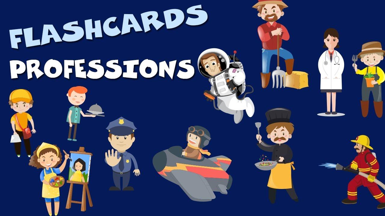 Profesiones En Inglés Para Niños Professions For Kids