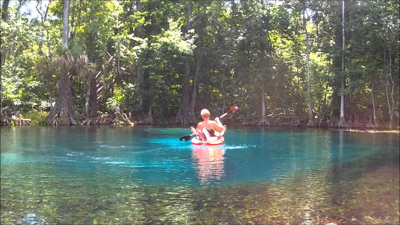 Silver Springs And Silver River State Park Kayak Adventure   June 26, 2013    YouTube
