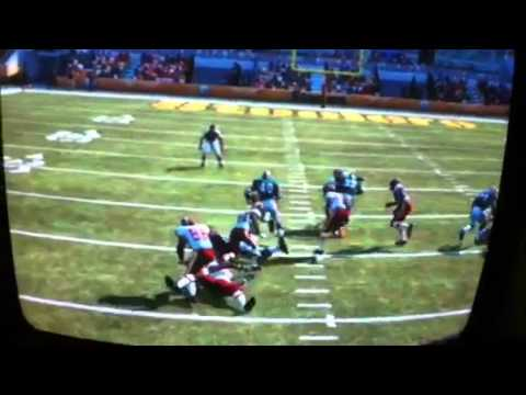 Gale Sayers touchdown! Madden 12
