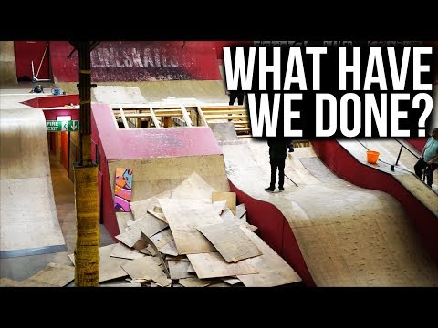 The End of the Step Up at Rampworx Skatepark?