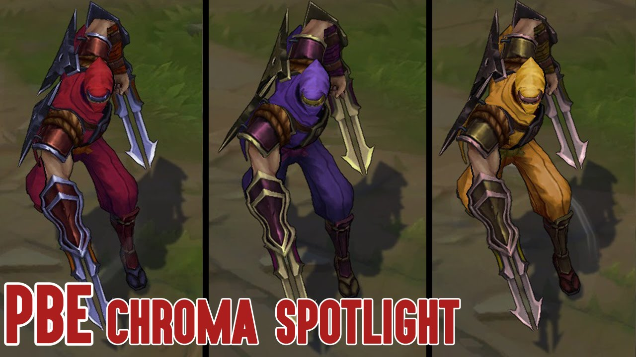 Update On The Shockblade Zed Chroma Pack