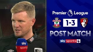Eddie Howe analyses Bournemouth's 3-1 with Gary Neville and Jamie Carragher