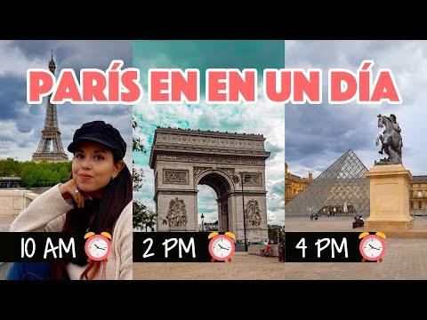 Escala de un día en París