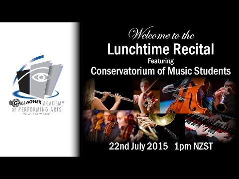 Wednesday Lunchtime Recital Series - Student Concert