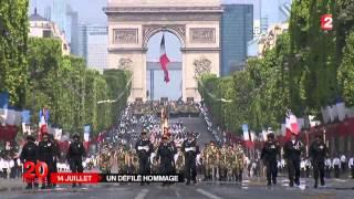 14 Juillet  les forces antiterroristes à l'honneur