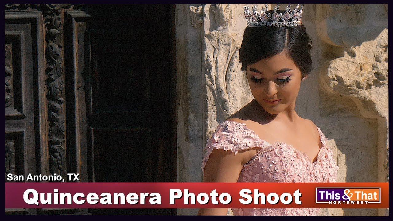 A Quinceanera Photo Shoot