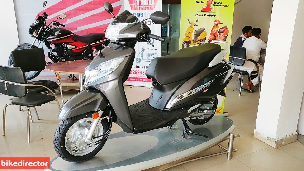 Honda Activa 125 Bs6 2019 New Activa Bs6 Fi Standard Model Base Vs Top Real Life Review Youtube