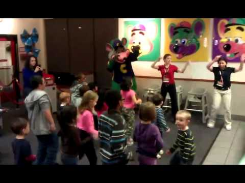 Cupid Shuffle at Chuck-E-Cheese in Ola Kansas