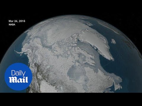 2016 arctic sea ice hits another record low - Daily Mail