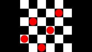 Backtracking algorithm for six queens problem