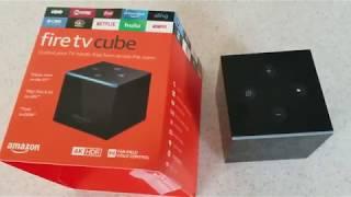 FireTv Cube First Look DirecTv Netflix Amazon Video Music Hulu Playstation 4 Nintendo Switch Spotify