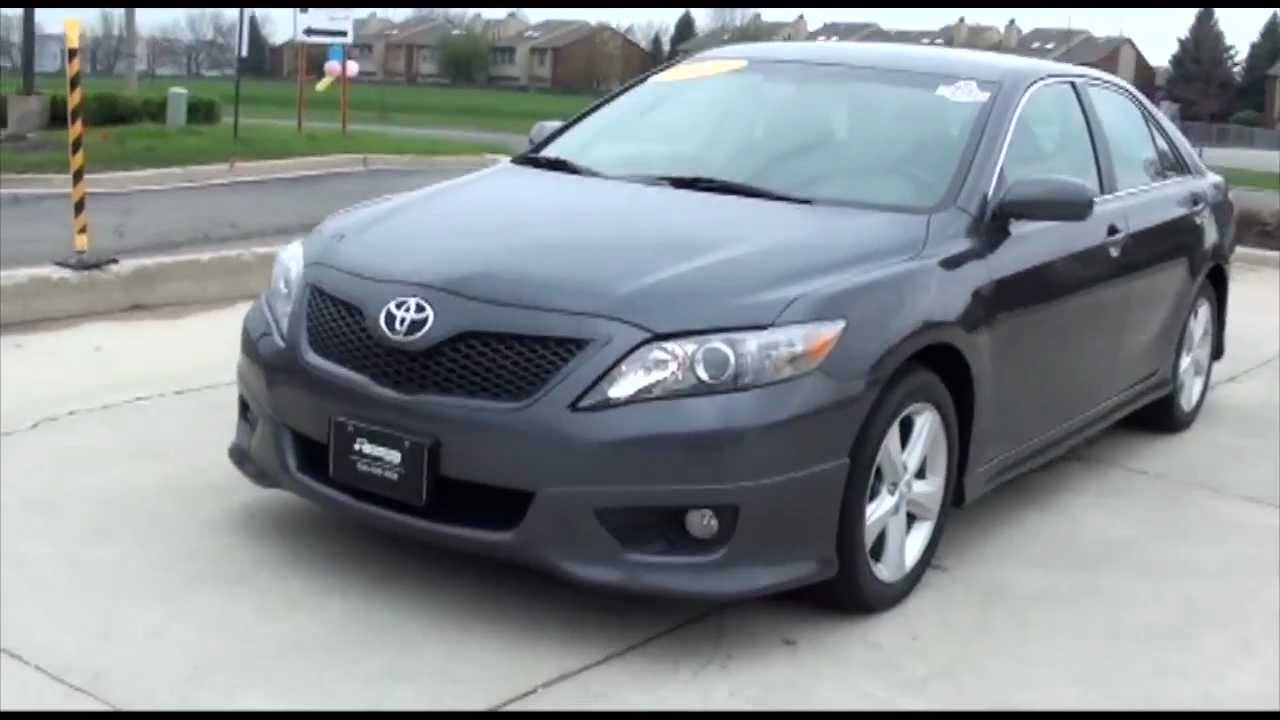 2011 Toyota Camry SE Sport Bluetooth XM Excellence Cars ...
