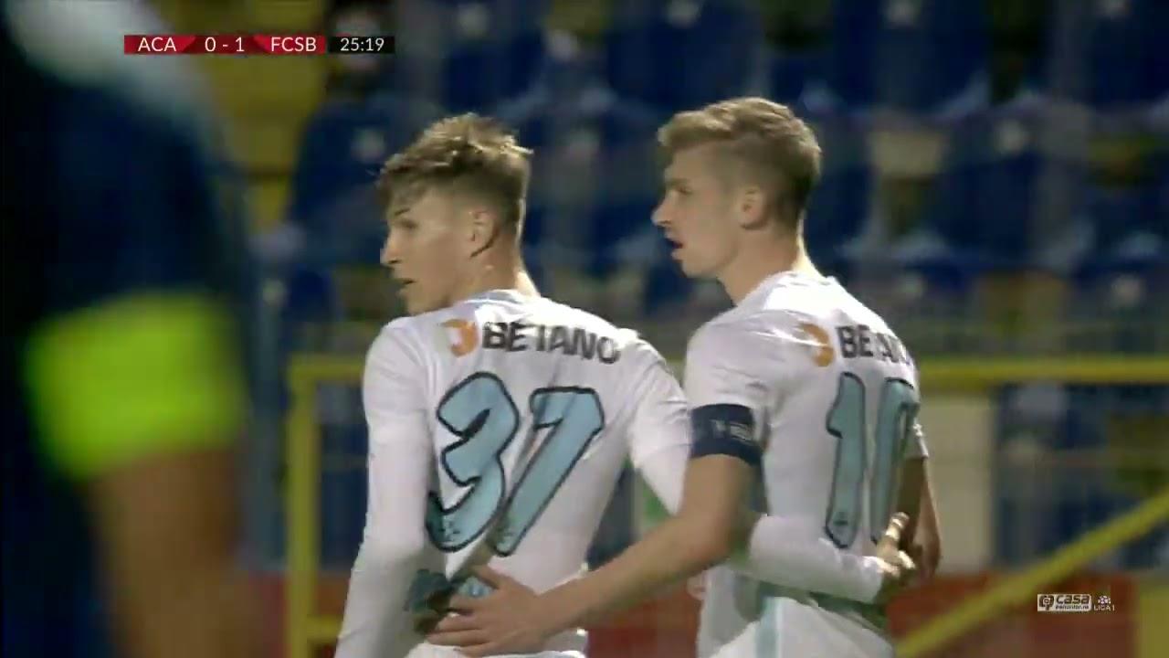 GOOOL! Academica - FCSB 0-1! Tănase ajunge la al 20-lea gol în Liga 1 după o fază ceas a oaspeților
