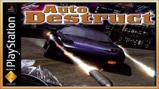 Auto Destruct :: PSOne :: Прохождение :: #1