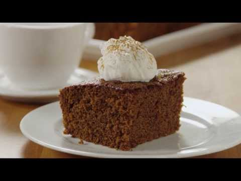 How to Make Old Fashioned Gingerbread | Christmas Recipes | Allrecipes.com