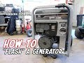 "HOW-TO ""Flash"" A Generator 