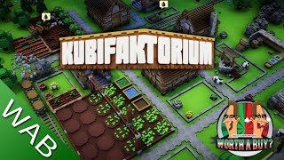 Kubifactorio Review (Early Access) - Colony builder