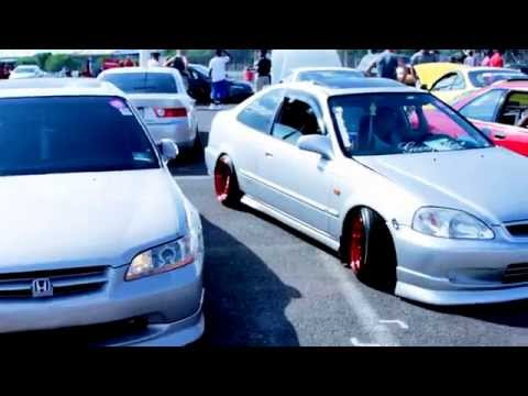 Honda Day 2014 Car Show / MotorSport Event - ETown Raceway Park NJ  jdm honda racing