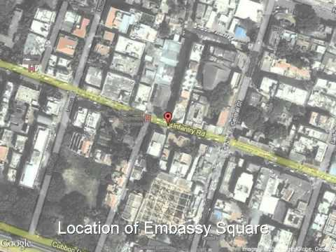 Embassy Square - Infantry Road, Bangalore