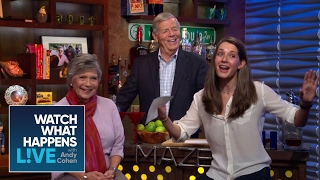 By the Bar w/ Eve & Lou: Andy Cohen Sh*t His Pants? | WWHL