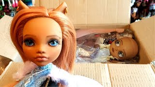 ООАК БЛАЙЗ И ООАК МОНСТЕР ХАЙ. Посылка с куклами Monster high и Барби. Распаковка.