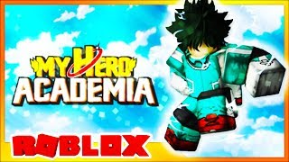 THE BEST MY HERO ACADEMIA GAME EVER *BEING DEKU* (Roblox)
