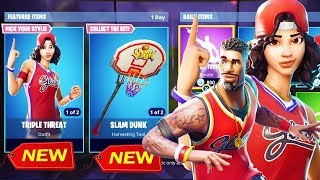 *NEW* BASKETBALL SKINS & SLAMDUNK PICKAXE?! // FORTNITE BATTLE ROYALE // 811 WINS // NEDERLANDS