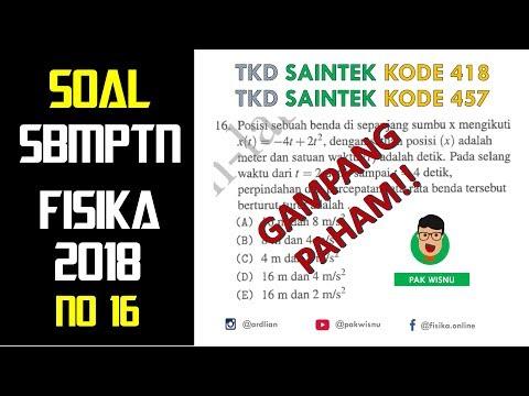 Contoh Soal Sbmptn Saintek 2018 Pdf - Contoh Soal Terbaru