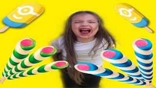 Duru 3 Tane Algida Twister Dondurma Aldı Bedava Çıkmadı | Funny Video
