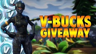 V-Bucks GIVEAWAY! Pro Fortnite Player on Console! 465+ Wins/10,000+ Kills on Xbox w/Toidleboy!