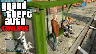 GTA 5 Online - Bus Stop!