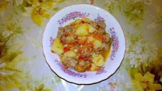 """Как приготовить """"Бограч"""" -  венгерский суп-гуляш"""
