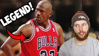 """Rugby Player Reacts to MICHAEL JORDAN """"Air Jordan"""" GREATEST MJ Video on YouTube!"""