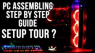 How to assemble a PC {HINDI} PC assembling/building guide for beginners