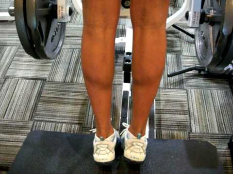 calf workout for women female strength training  youtube
