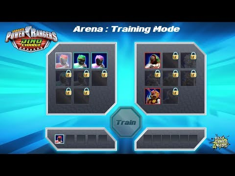 Power Rangers Dino Charge Rumble   ARENA: TRAINING MODE!