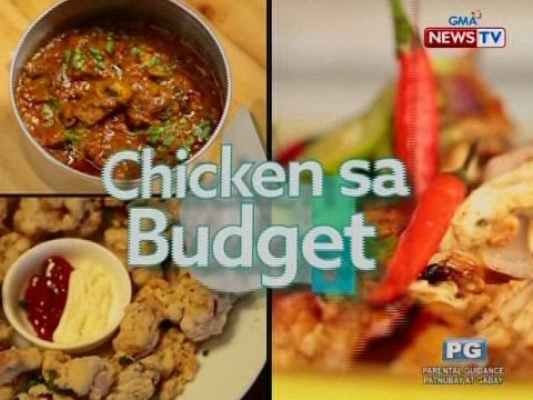 Good News: Chicken sa Budget