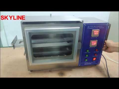 ISO 3795, FMVSS 302, DIN 75200 Flammability Testing Equipment/Horizontal Flammability Tester