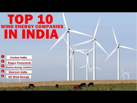 Top 10 Wind Energy Companies In India | Explained In Tamil