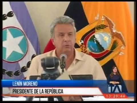 Presidente Lenin Moreno denuncia que encontró una cámara oculta en su despacho
