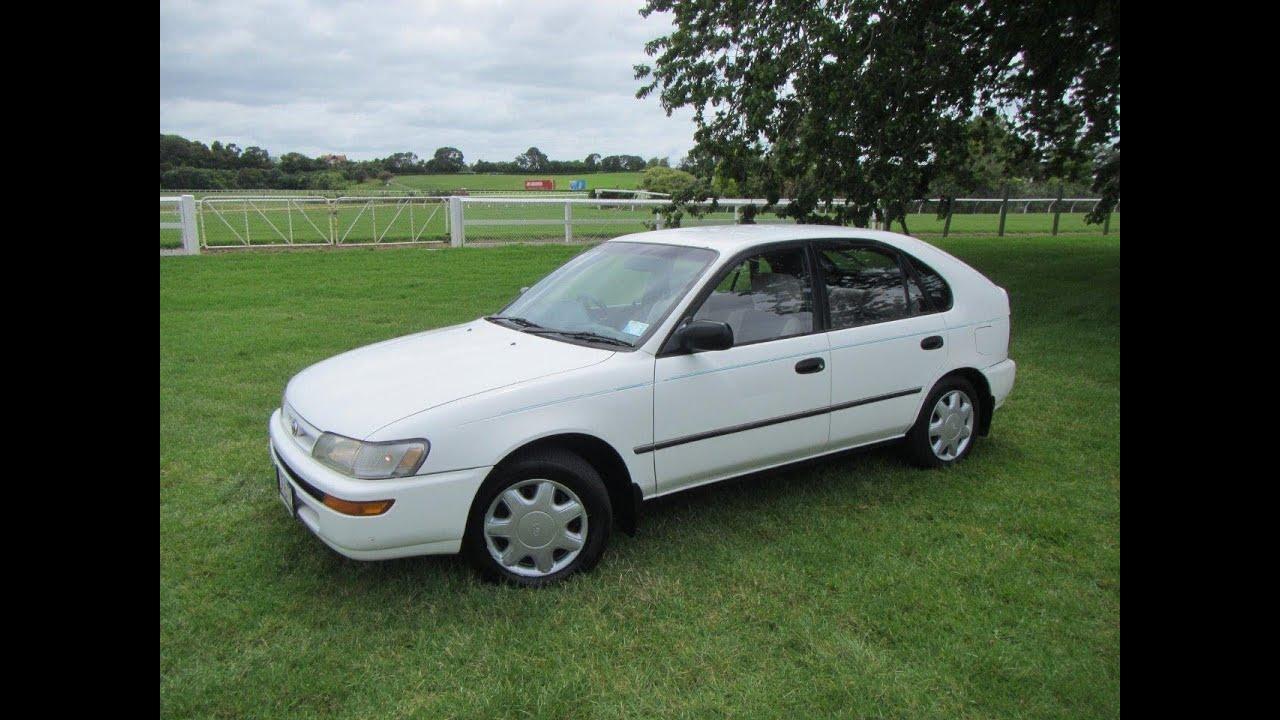 1996 Toyota Corolla GL Hatch NZ New $1 RESERVE