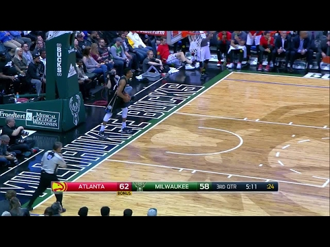 Quarter 3 One Box Video :Bucks Vs. Hawks, 3/24/2017 12:00:00 AM