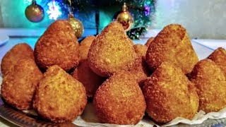 Крокеты мясные к Старому Новому году по - цыгански. Бомбочки с мясом.Gipsy cuisine.