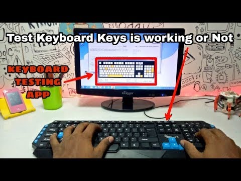 Keyboard Testing Check Keyboard Keys Working Or Not Using Software Youtube