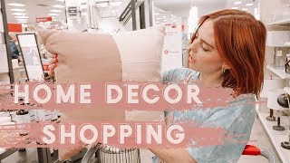 VLOG: Home Decor Shopping / LIVING ROOM TOUR
