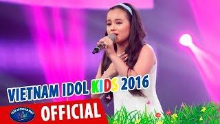 vietnam idol kids 2016 - gala 2 - me toi - khanh linh