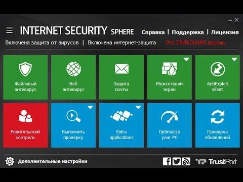 Тестирование TrustPort Internet Security 17 & 16