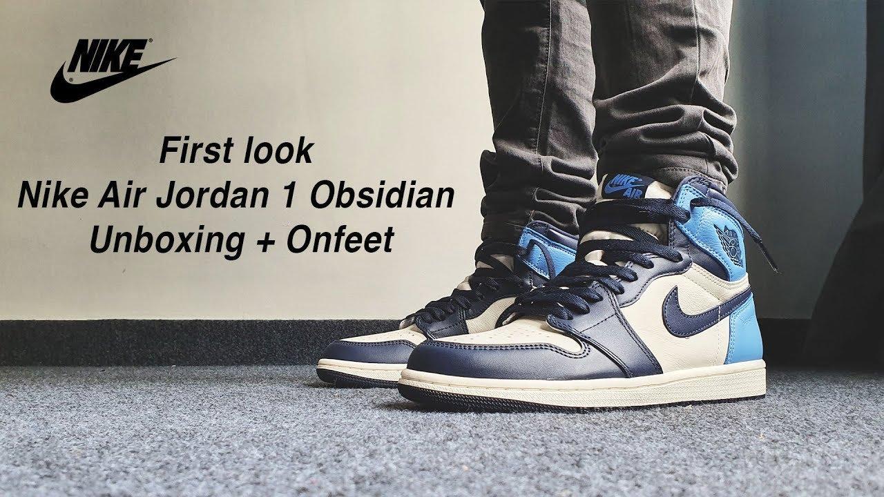 nike air jordan 1 obsidian